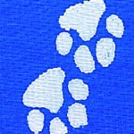 Pawprints Ribbon